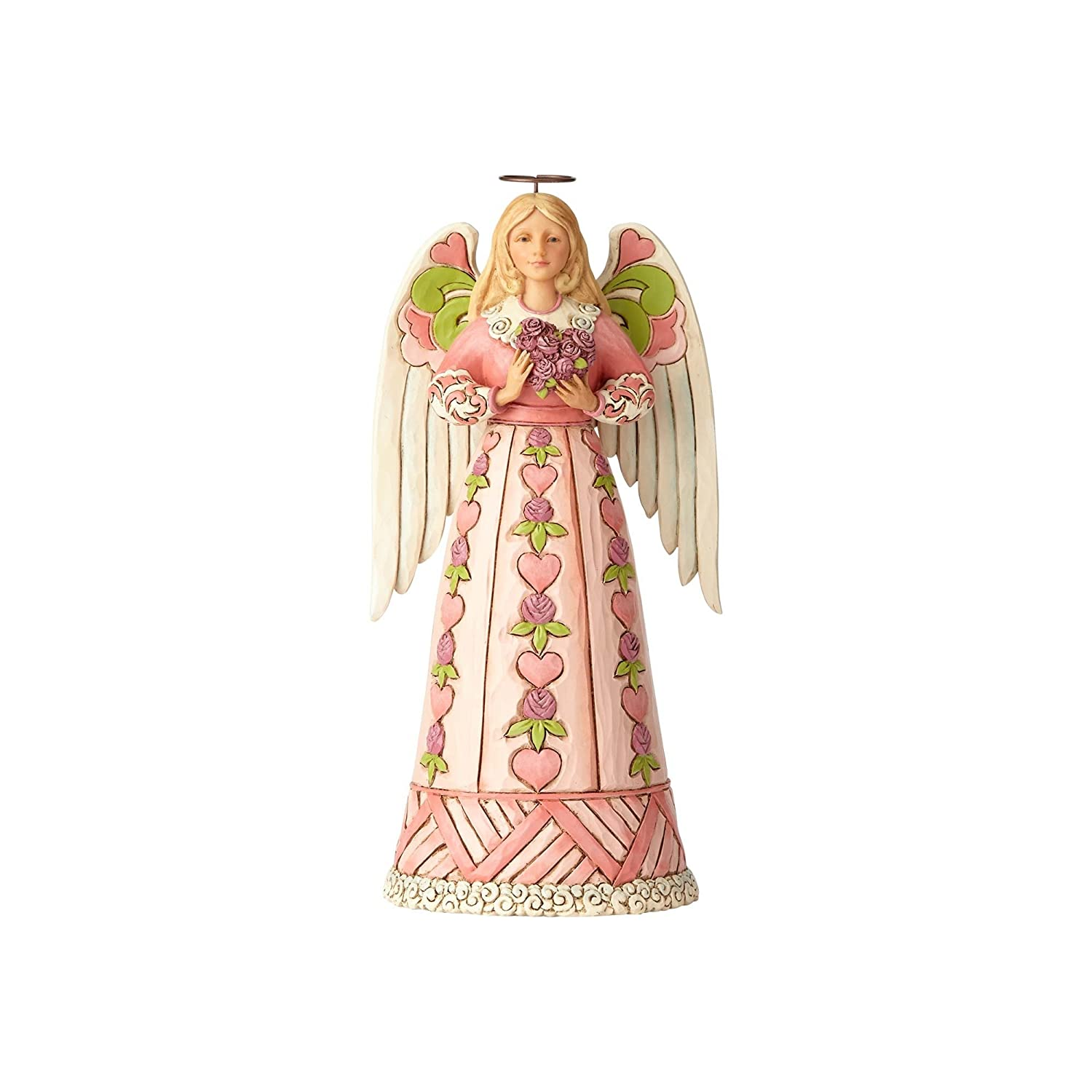 Enesco Jim Shore Heartwood Creek Angel w/Heart