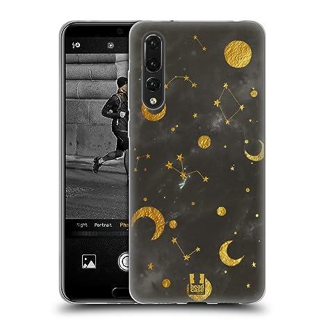 Head Case Designs Constellation Galaxie de Marbre Coque en Gel Doux  Compatible avec Huawei P20 Pro