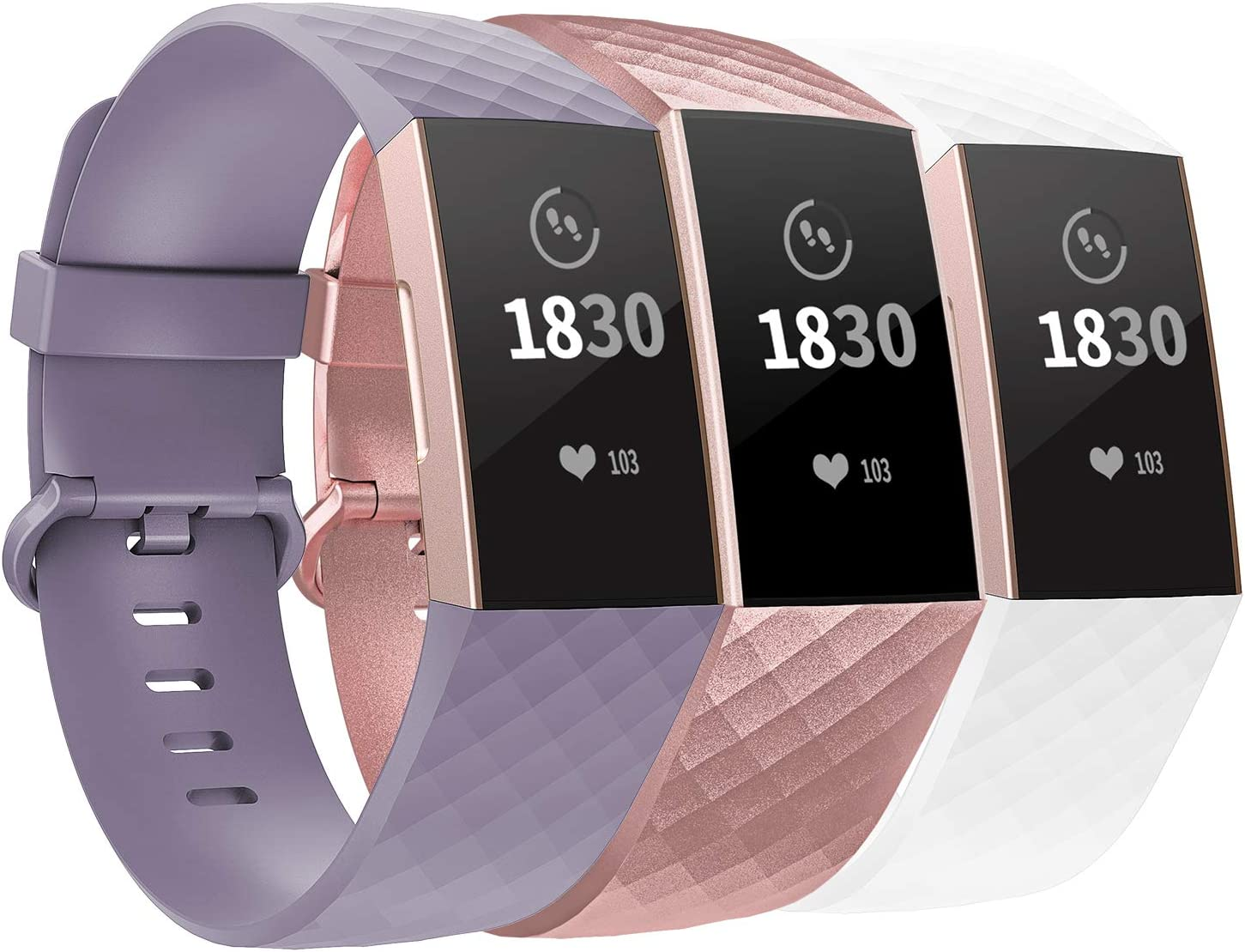 Mallas Para Fitbit Charge 3 Se Y Fitbit Charge 4(2mzn)