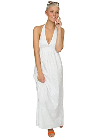 Robe longue blanche amazon