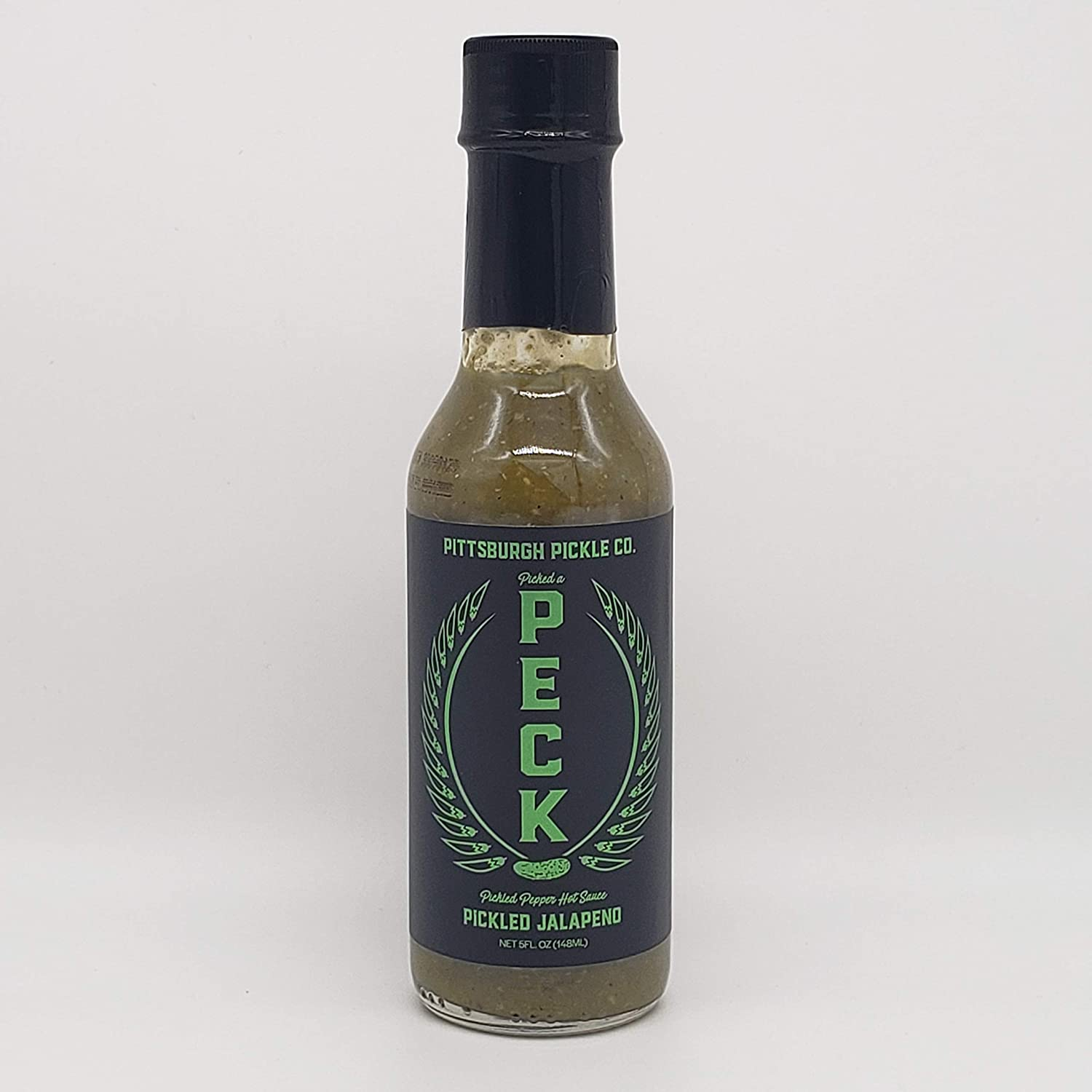 Pickled Jalapeno Peck - A Pittsburgh Pickle Company Hot Sauce