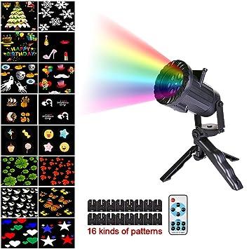 Navidad Proyector luces Spotlight LED Paisaje decorativo ...