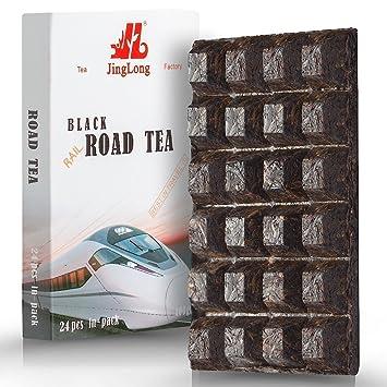 Black Tea Loose Leaf (48 cups) formed in a Chocolate Bar Shape – Easy