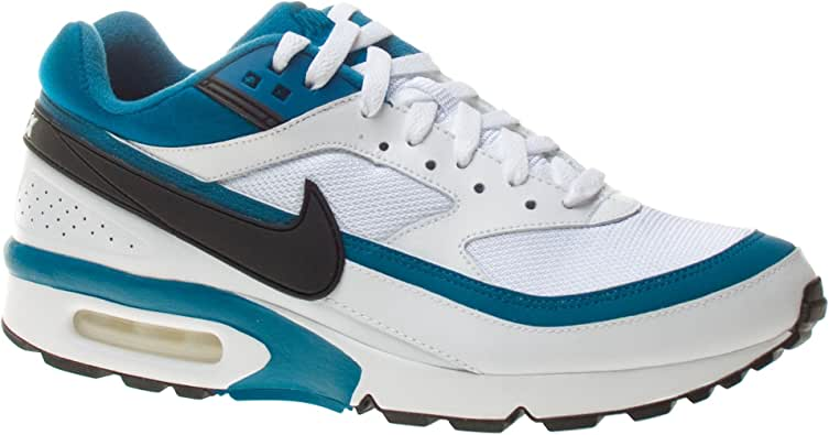 Nike Air MAX 2016, Zapatillas de Running para Hombre, Negro/Azul/Gris (Black/Sail-Racer Blue-Anthrct), 45 1/2 EU: Amazon.es: Zapatos y complementos
