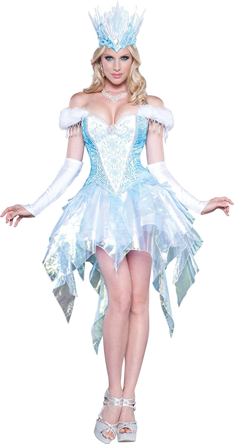 InCharacter Costumes Women's Sexy Snow Queen ice witch costume