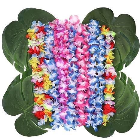 miglior prezzo fornitore ufficiale design popolare Aytai 48pc 35,1X28,9cm Morbide foglie di palma artificiale e ...