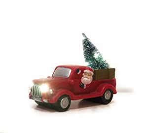 THE NIFTY NOOK I Vintage Christmas I RED Truck I LED Lighted I Farmhouse Look I Home Decor I Great Gift