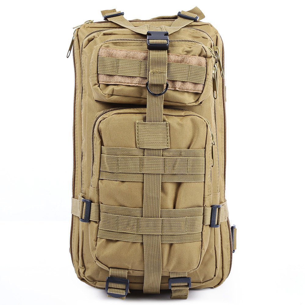 Amazon.com: 9Colors 3P Outdoor Tactical Backpack 30L Military Bag Army Trekking Sport Travel Rucksack Camping Hiking Trekking Camouflage Bag: Sports & ...