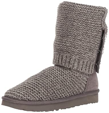 bceafd4f98c UGG Women's W PURL Cardy Knit Fashion Boot