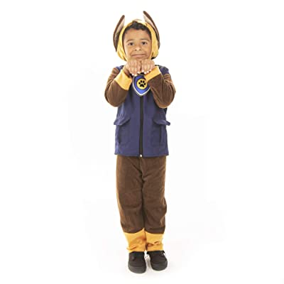 Patrolling Police Puppy Halloween Costume - Children\'s Dog Outfit: Clothing [5Bkhe0902241]