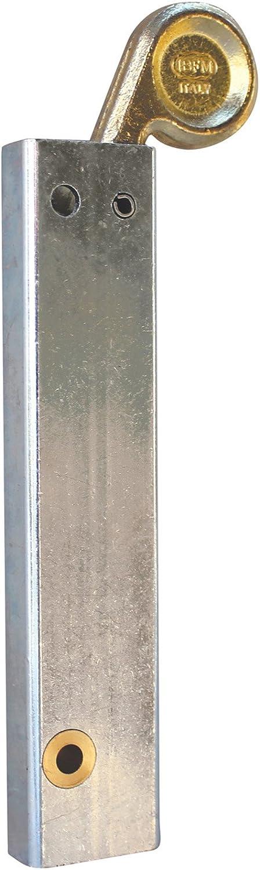 Torfeststeller Bodenriegel Mechanische Bodenverriegelung f/ür zweiten Torfl/ügel