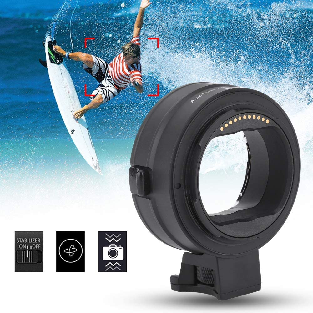 Oumij Adapter Lens Ring,Commlite cm-EF-NZ Auto Focus Lens Adapter Ring for Canon EF//EF-S Mount Lens to Fit for Nikon Z Mount Full Frame Mirrorless Camera
