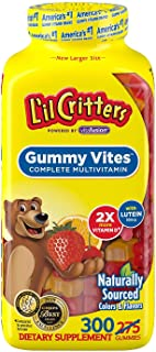 product image for L'il Critters Gummy Vites Children's Chewable Gummy Bear Multivitamin Dietary Supplement, 275 Count