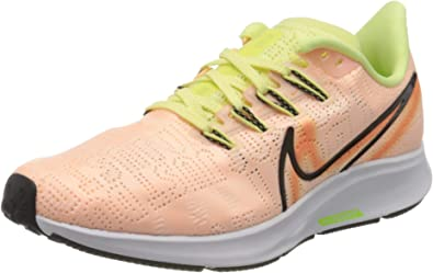Nike Air Zoom Pegasus 36 Premium Rise, Zapatillas de Trail Running para Mujer, Multicolor (Crimson Tint/Black-Luminous Green 800), 39 EU: Amazon.es: Zapatos y complementos