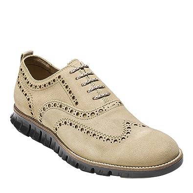 Cole Haan Men's Zerogrand Wing Ox II Barley/Dark Roast Shoe