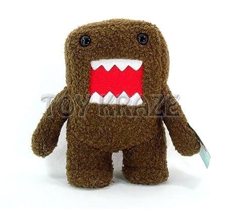 amazon com nanco brown domo 7 plush anime monster toys games