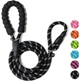 WePet Durable Dog Leash for Medium Large Dogs, Sturdy and Premium Quality Reflective Leashes, Supports Strong Pulling…