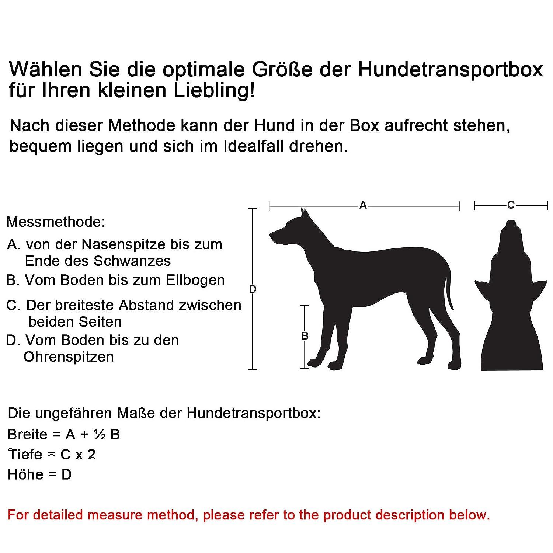 Bolsa para transporte de mascotas Songmics 70 x 52 x 52 cm por solo 34,99€