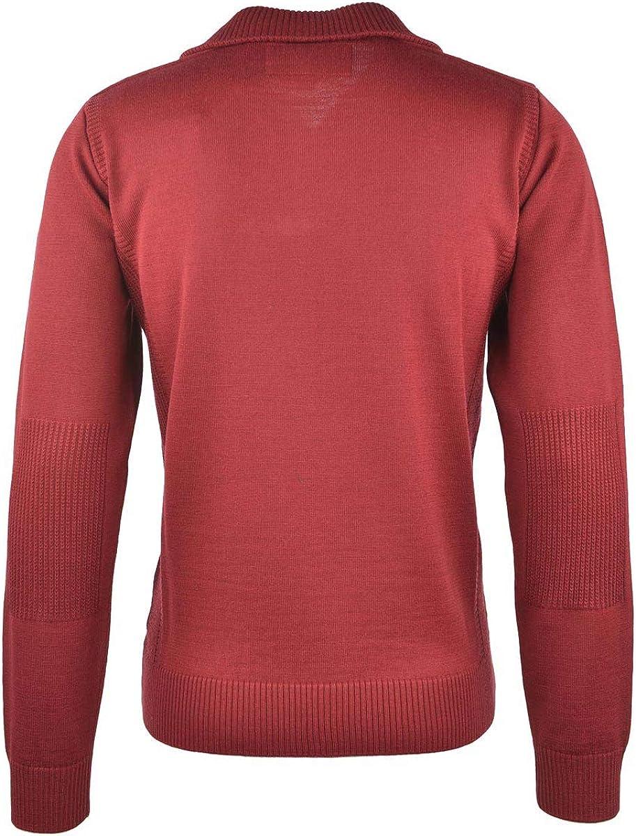 Bugatti Herren Pullover Rot