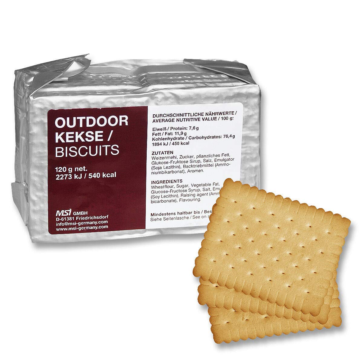 Emergency ration army survival food SURVIVOR® pack Outdoor 100g Army Prepper