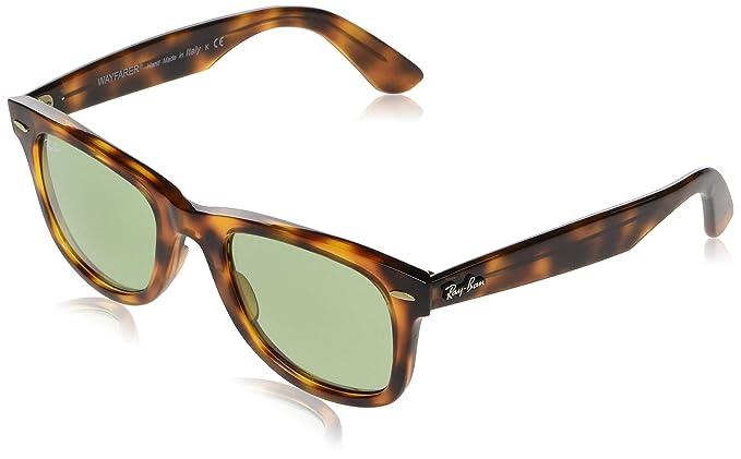 RAY-BAN 0RB4340 Gafas de sol, Red Havana, 50 Unisex