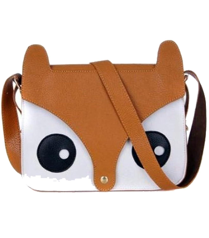 New handbag cute naughty little fox head shoulder bag diagonal packet cartoon raccoon dog