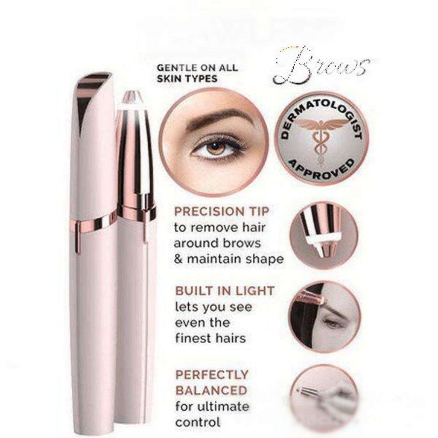 Yaogroo As Seen On Tv Brows The Best Eyebrow Hair Removal New