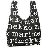 MARIMEKKO 41395 910 折りたたみスマートバッグ BLACK/WHITE[並行輸入品]