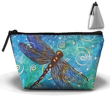PLKSDAE - Estuche para cosméticos con Diseño de Mariposas y ...