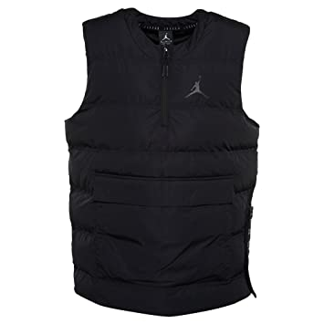 Jordan, Hombre, 23 Tech Vest, poliéster, Chaqueta, Negro ...