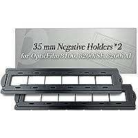 Plustek 2 x 35 mm Negative Holders (Negative Film), for OpticFilm 72~82 Series use only (8100 & 8200i se & 8200i ai)