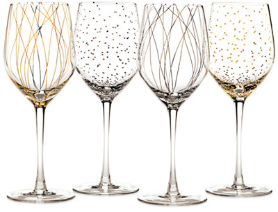Mikasa Cheers Party Wine Glasses, Set of 4 - A Macy's Exclusive - Shop All Glassware & Stemware - Dining & Entertaining - Macy's