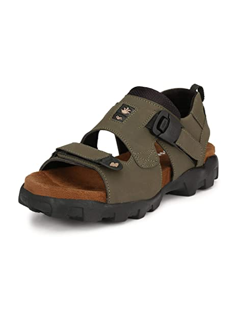 a55850142 Shoegaro Green Sport Sandals for Men  Buy Online at Low Prices in ...