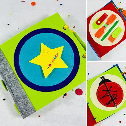 Amazon.com: Quiet Book for 3 Year Old - Kids Travel Toys ...
