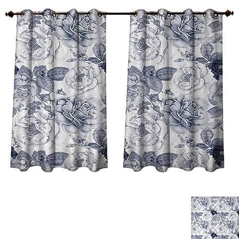 Pleasing Amazon Com Anzhouqux Shabby Chic Blackout Curtains Panels Download Free Architecture Designs Xerocsunscenecom