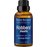 Robbers' Health Essential Oil Blend 30 ml - Formulated by 4 Thieves - Pure, Natural Undiluted Blend of Five Essential…