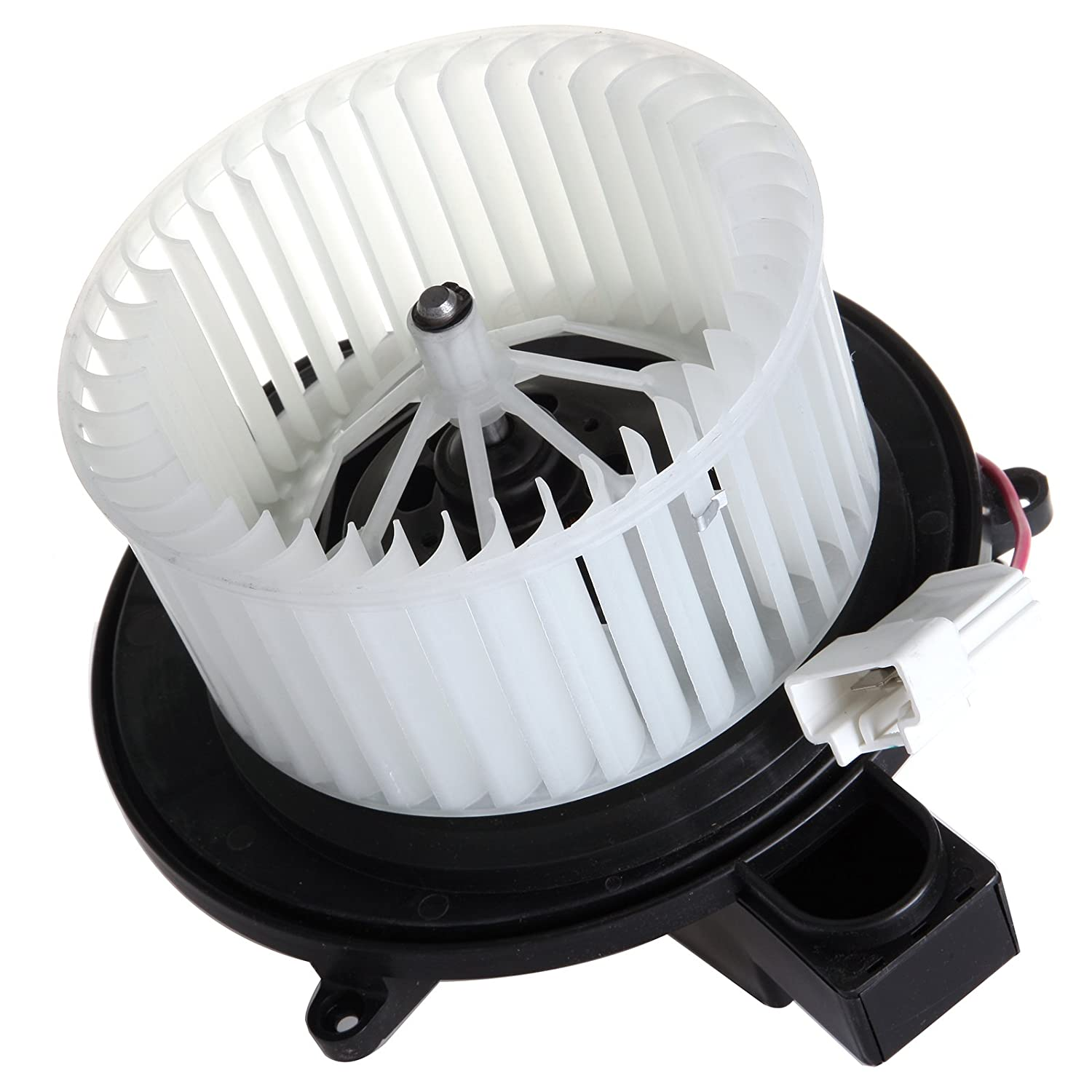 SCITOO ABS Plastic Heater Blower Motor w/Fan HVAC Resistors Blowers Motors Replacement fit for 2007-2011 Dodge Nitro/ 2008-2012 Jeep Liberty Front 058446-5206-1543191