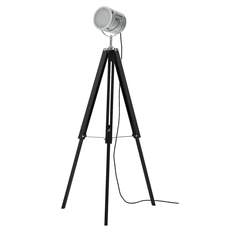 lux.pro] Stehleuchte Tripod (1 x E27 Sockel)(64cm - 140cm ...
