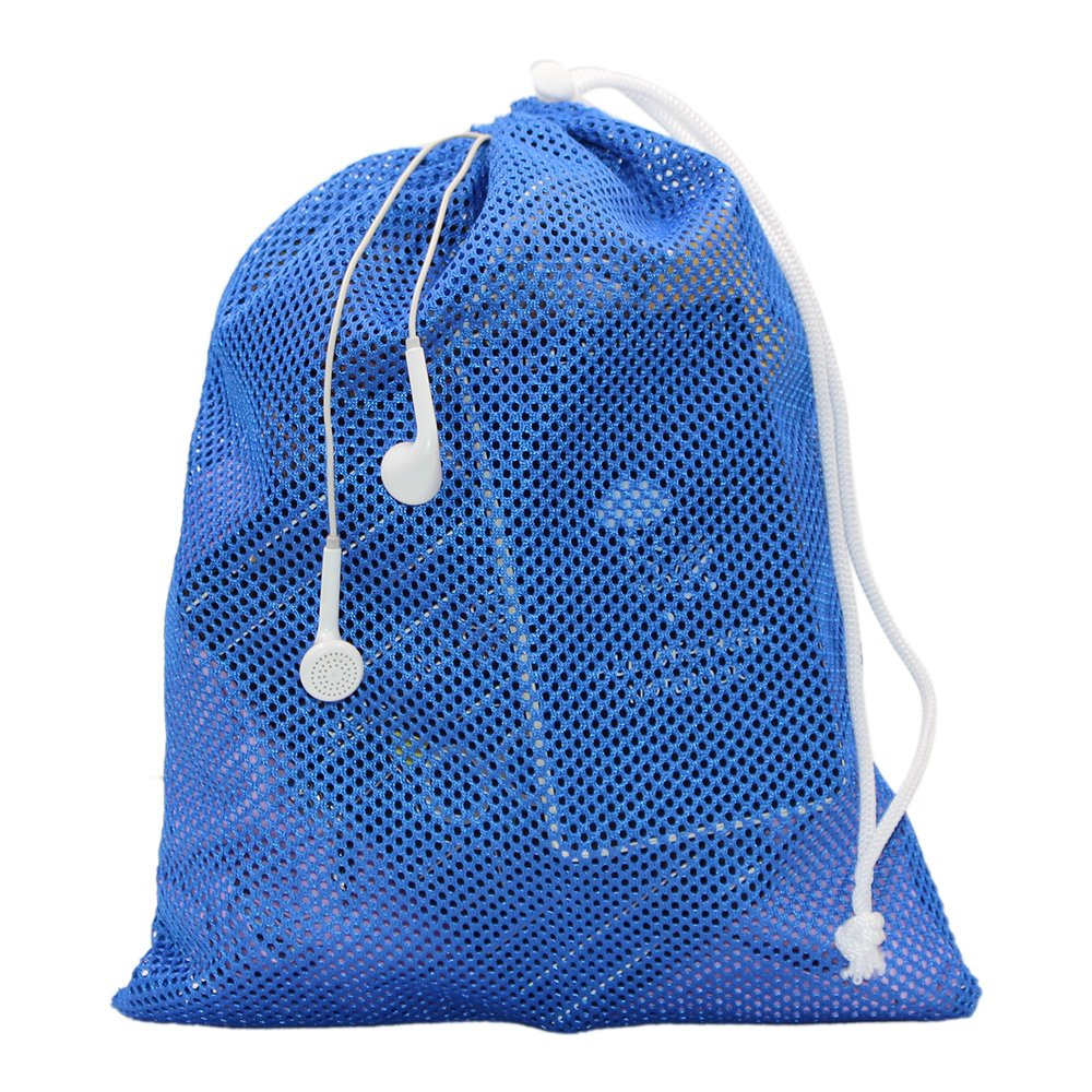 6 PCS Nylon Mesh Drawstring Storage Bag Equipment Bag Stuff Sack Golf Ball Bag ,Assorted by Erlvery DaMain (Image #6)