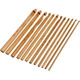 Crochet Hooks Needles (12pcs Bamboo Hook)
