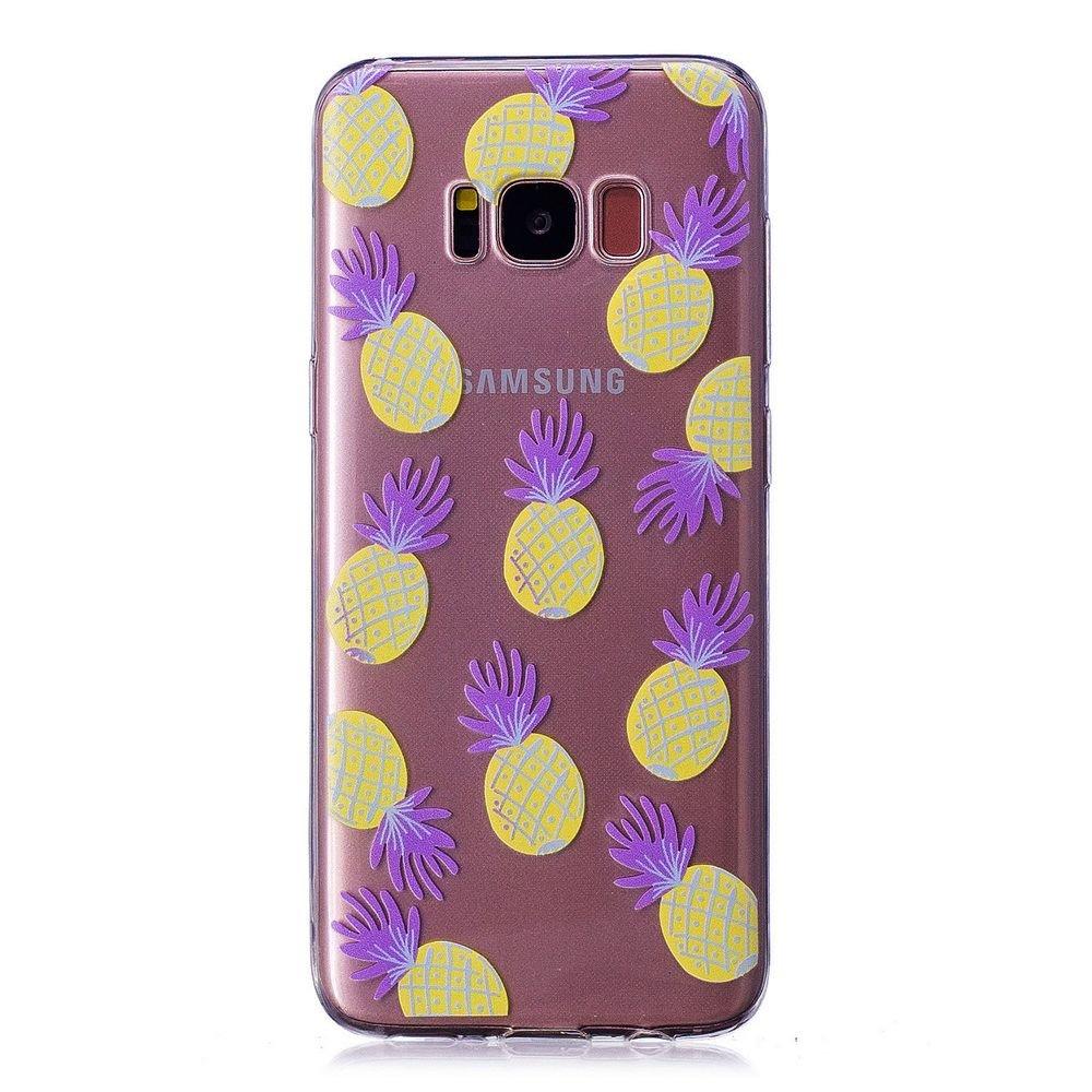 Fine Finet Samsung Galaxy S8 Plus S8+ Funda, Transparente Suave TPU Silicona Flexible Gel Funda Resistente a los Arañ azos Anti Choque Protectora Case (Gamepad)