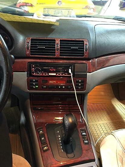 Amazon Com For Bmw E46 3 Series Interior Dash Trim Kit 3m Burl Full
