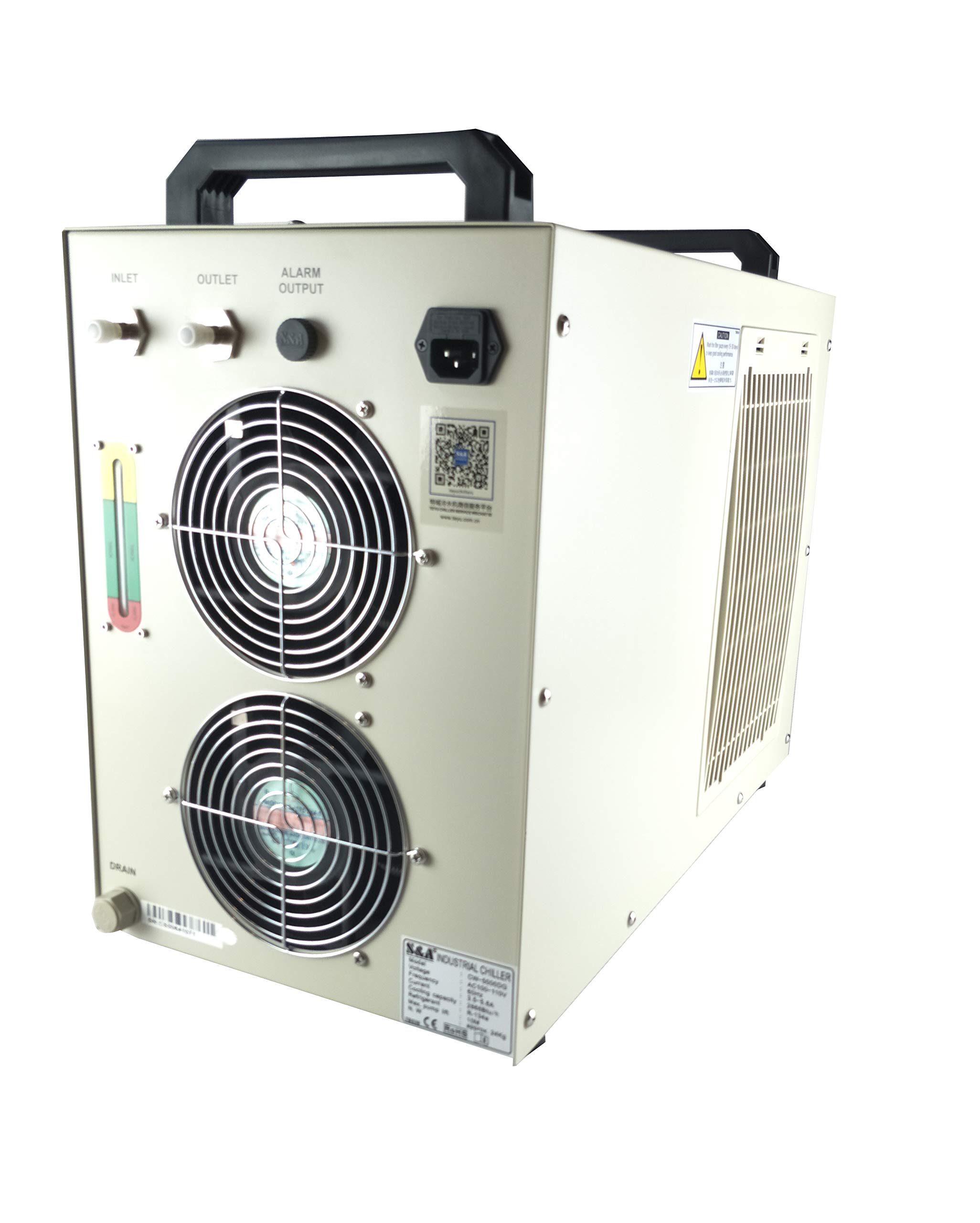 Industrial Water Chiller for CNC/ Laser Engraver with refrigerat CW-5000 series by TEYU (Image #3)