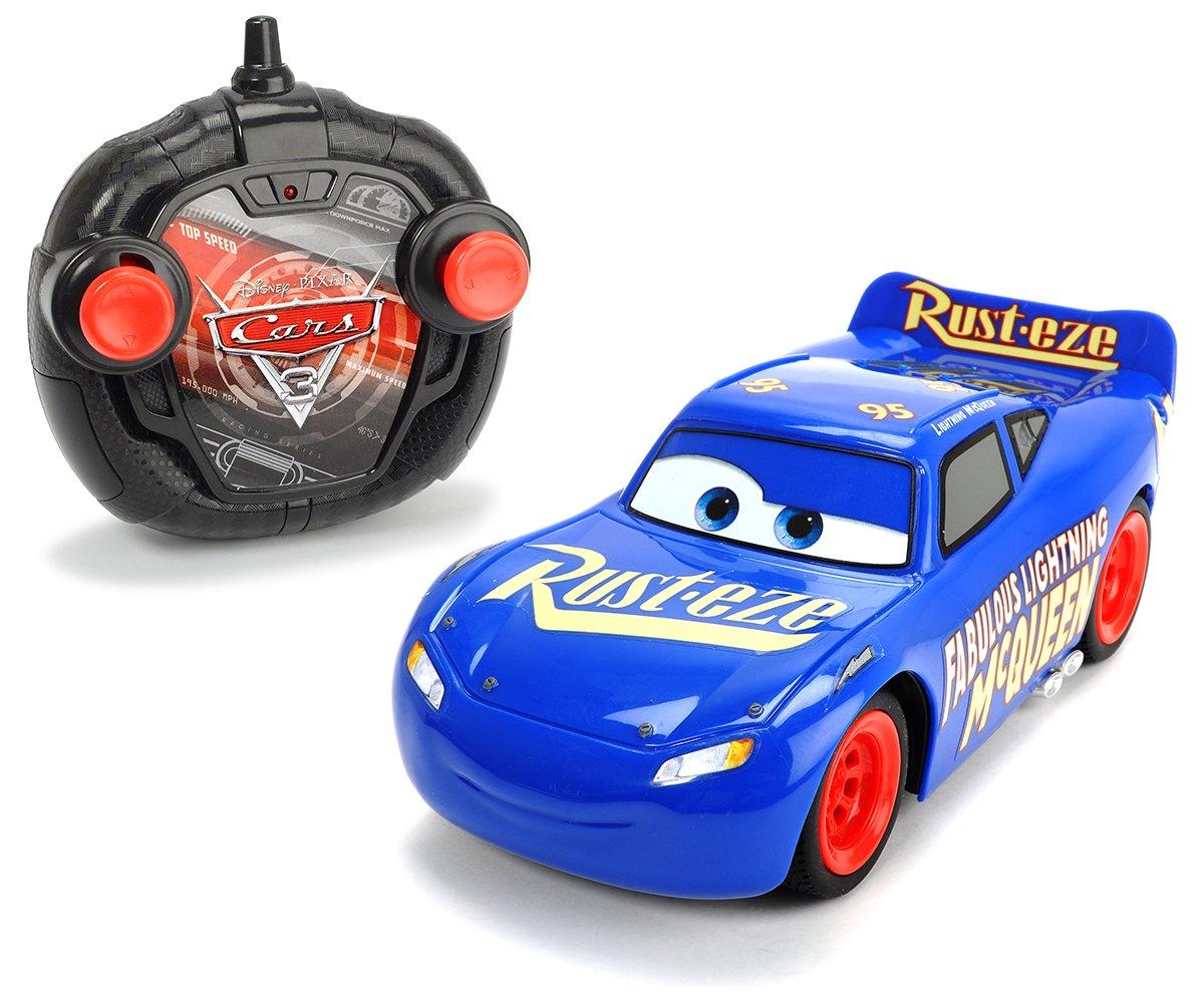 Dickie Toys 203087009 - Fahrzeug RC Cars 3 Twin Pack LMQ + Jackson Storm, 1:24, 17cm Dickie Spielzeug