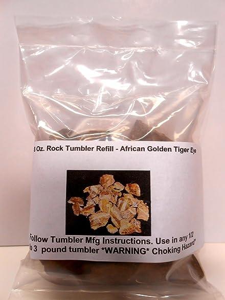 Amazon Rock Tumbler Gem Refill Kit True Africa Golden Tiger Eye