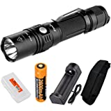 Fenix PD35 XM-L2 U2 LED Tactical Flashlight /w Genuine Fenix 18650 Rechargeable battery and a Rechargeable Kit