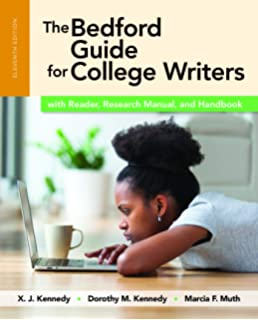 The bedford guide for college writers with reader, research manual.