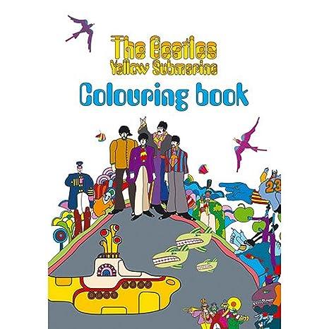 Amazon.com: The Beatles - Yellow Submarine Colouring Book: Sports ...