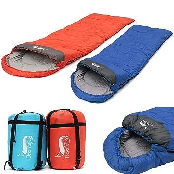 Saco de dormir momia, camtoa Ultraleicht, compacto, cálido Saco de dormir para dormir