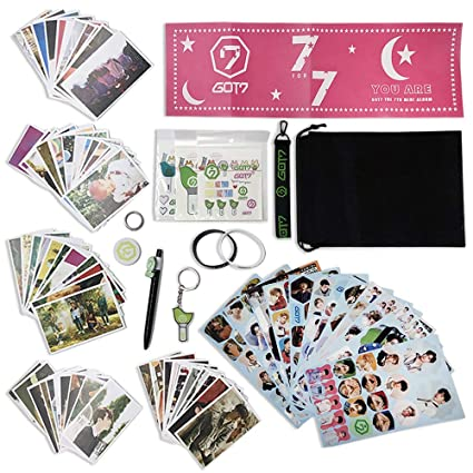 Amazon.com: Fatyi Got7 - Set de regalo con tarjeta de Lomo ...